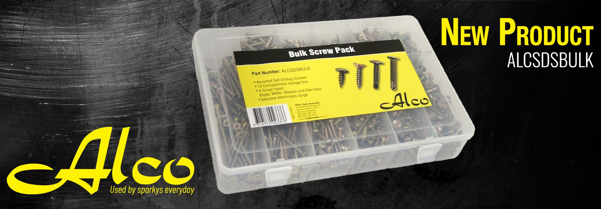 Bulk Screw Pack