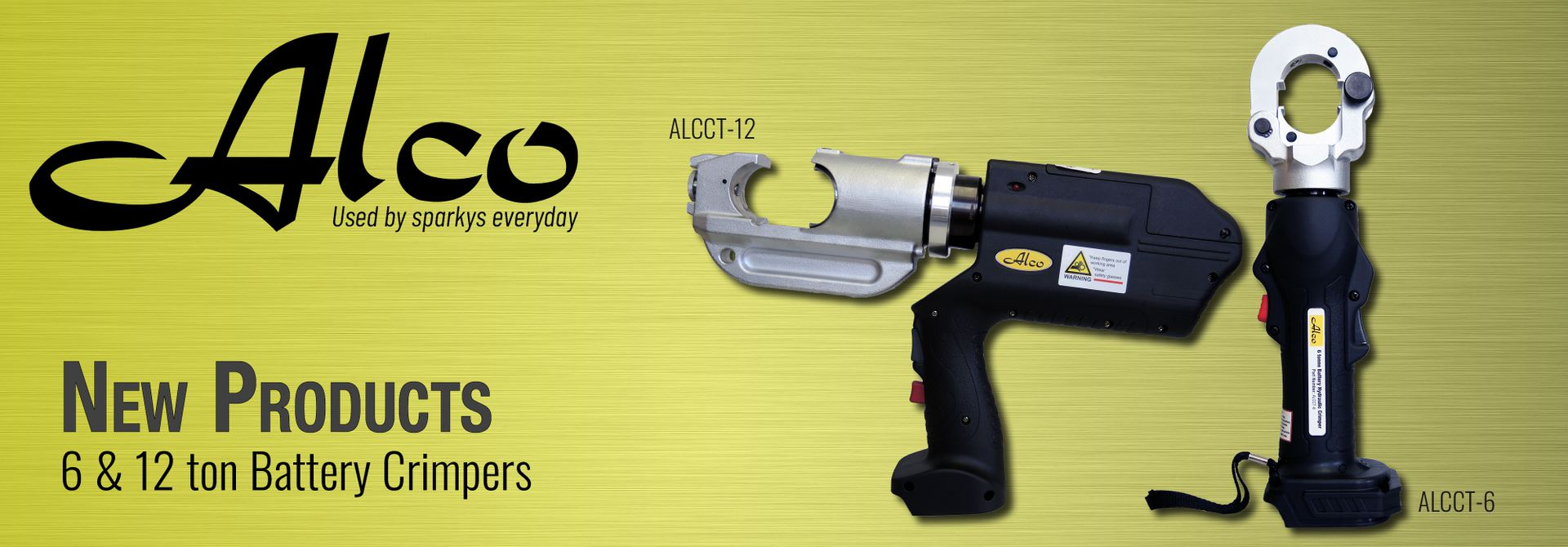 6 & 12 ton Battery Crimpers