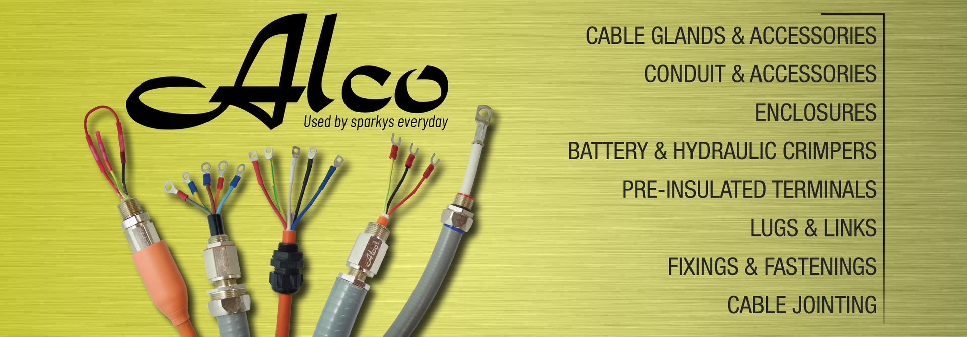 Alco - Used by sparkys everyday